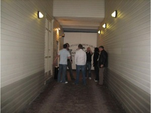 Riga nightclub bouncers